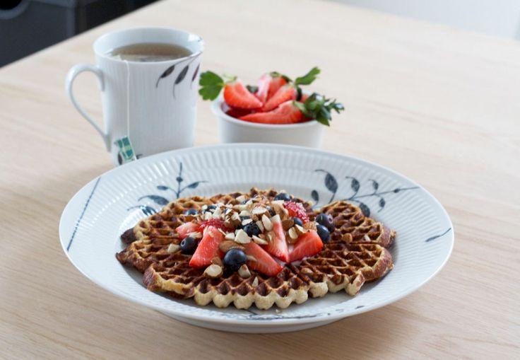 Sunde vafler til morgenmad – Malene Mandrup