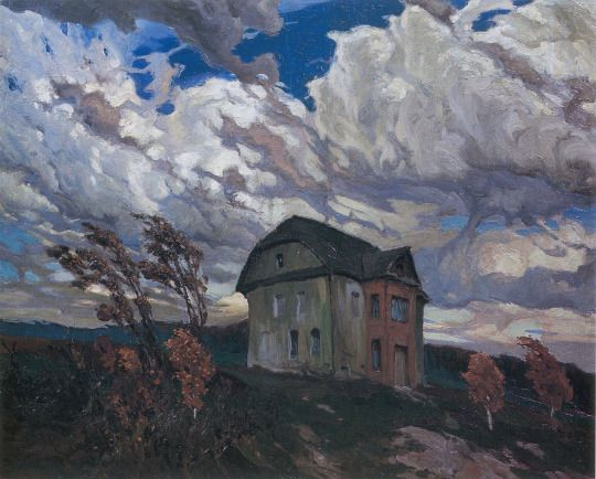 Ferdynand Ruszczyc - Pustka, stare gniazdo