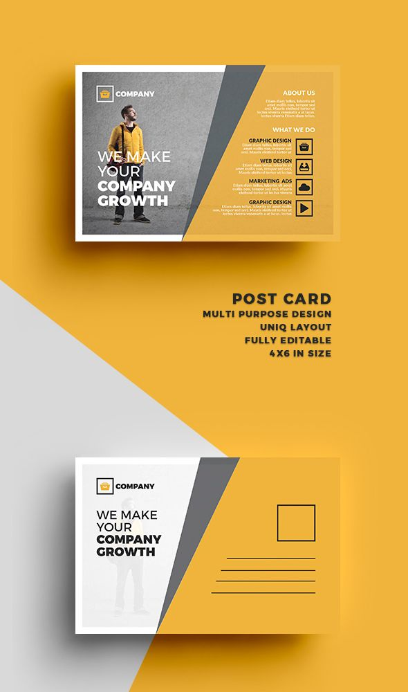 Postcard Design Ideas postcard design ideas Find This Pin And More On Corporate Design Postcard On Behance