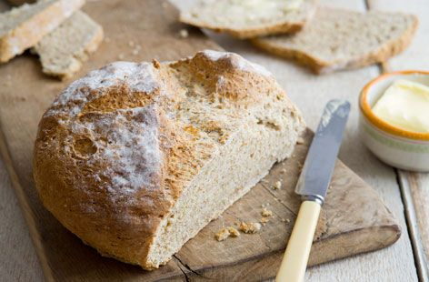 This traditional Irish soda bread can be baked in no time. | Tesco