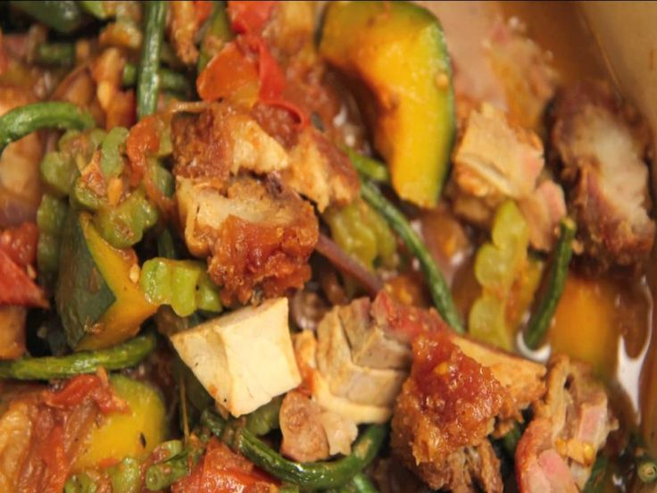 Pinakbet is a rustic vegetable stew that comes from the Northern Philippines. As a child I hated it because it included so many vegetables and acquired...