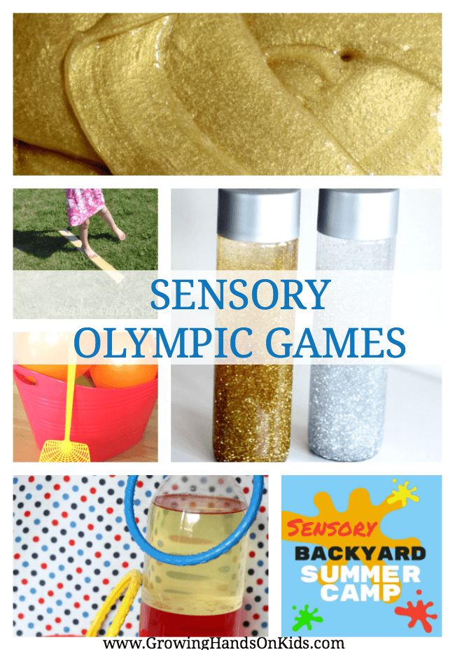 Sensory Olympic Games Summer Camp At Home Ideas