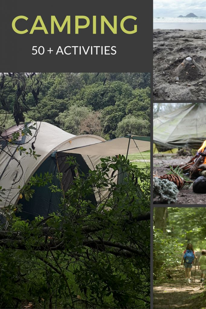 50+ camping activities to entertain everyone (no devices in sight)