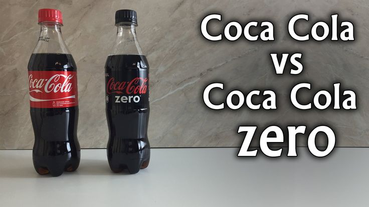 Coca Cola vs Coca Cola Zero - Sugar Experiment