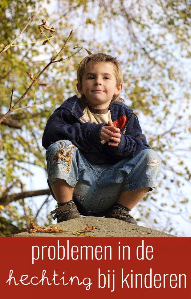 Problemen in de hechting bij kinderen