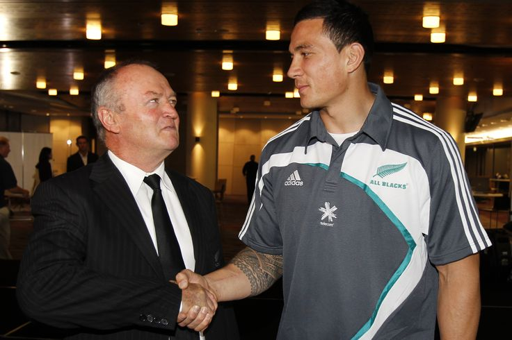 """""""Welcome to the All Blacks."""" A magic moment for any New Zealand rugby player."""
