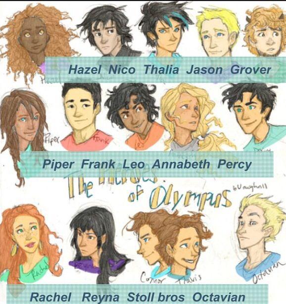 Heroes Of Olympus Char...