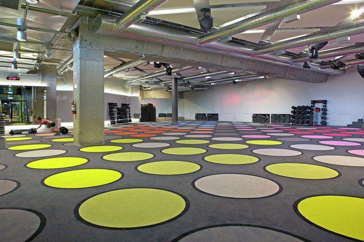 Location: Les Mills, Britomart, Auckland. #Carpet by #egecarpets