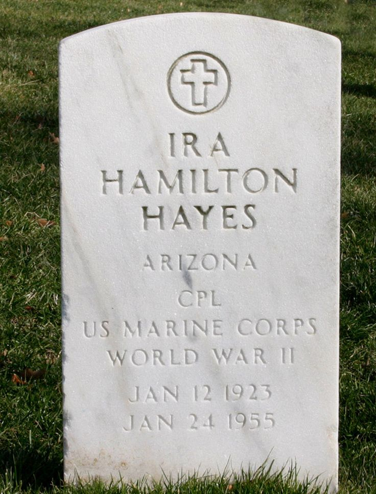 Ira Hayes Tombstone - Ira Hayes -By photo taken by flickr user dbking - flickr, CC BY 2.0, https://commons.wikimedia.org/w/index.php?curid=1649548