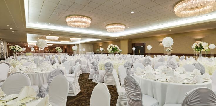 Wedding reception at the Coast Plaza Hotel and Conference Centre, Calgary, AB