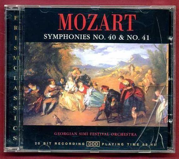Mozart Symphonies No  40 & No  41 - Georgian Simi Festival