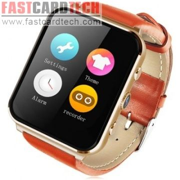 L7 Smartwatch Phone 1.54 Inch MTK6261 ECG Heart Rate Monitor Pedometer Camera Health Function Bluetooth Sync
