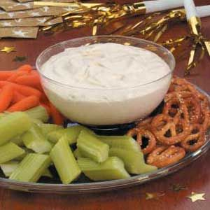 A-freakin-mazing garlic dip.  Don't plan on kissing anyone or sweating for a full week after eating it though!