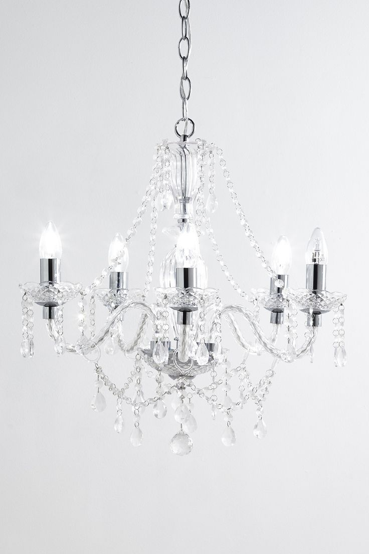 39 best crystal chandeliers images on pinterest beach homes bryony 5 light chandelier bhs arubaitofo Image collections