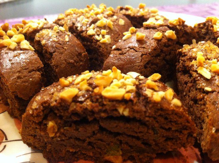#tozzetti al #cioccolato con granella di nocciole