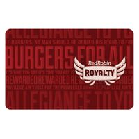 Get a Free Gourmet Burger during your birthday month, plus every 10th item #free, and more with Red Robin Royalty.