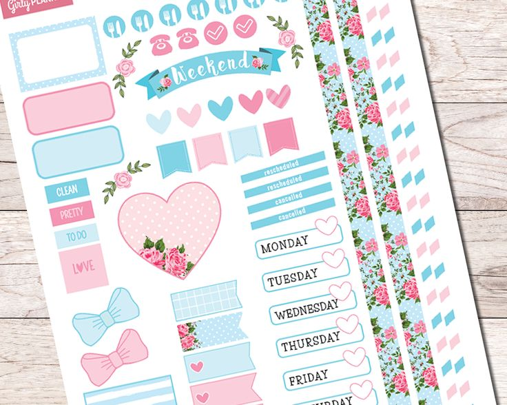 17 Best images about Planner & Bullet Journal Stickers on ...