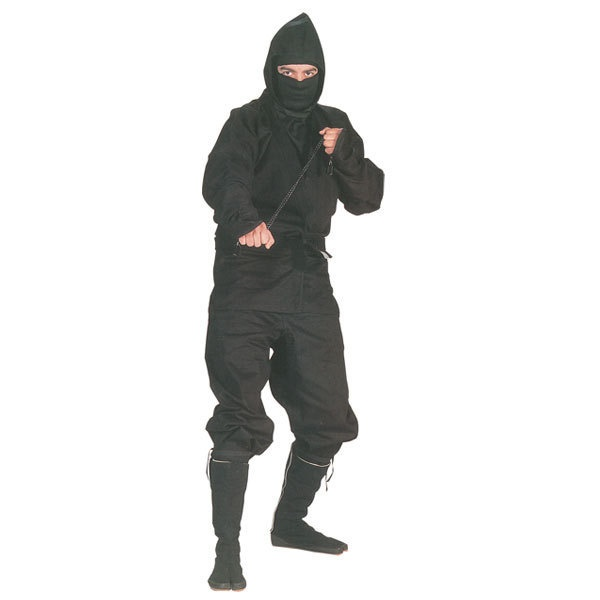 Black Ninja Uniform Set