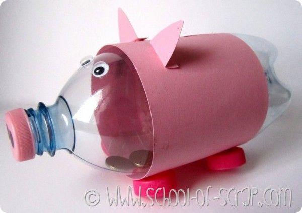 Wat kan je wel niet allemaal maken van plastic!? ik heb eens op internet gekeken…