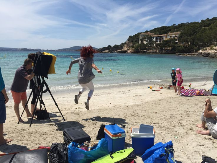 Fun on shoot in Mallorca