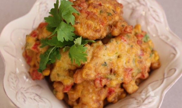 Sweetcorn Fritter : Dinner Dash with Hilary Biller : The Home Channel