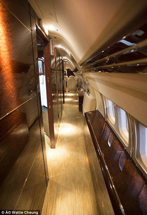 Five Star Automotive >> Inside Donald Trump's £63million private jet