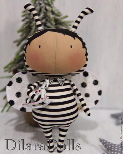 Купить или заказать тильда в интернет-магазине на Ярмарке Мастеров. тильда жук из новой серии кукол