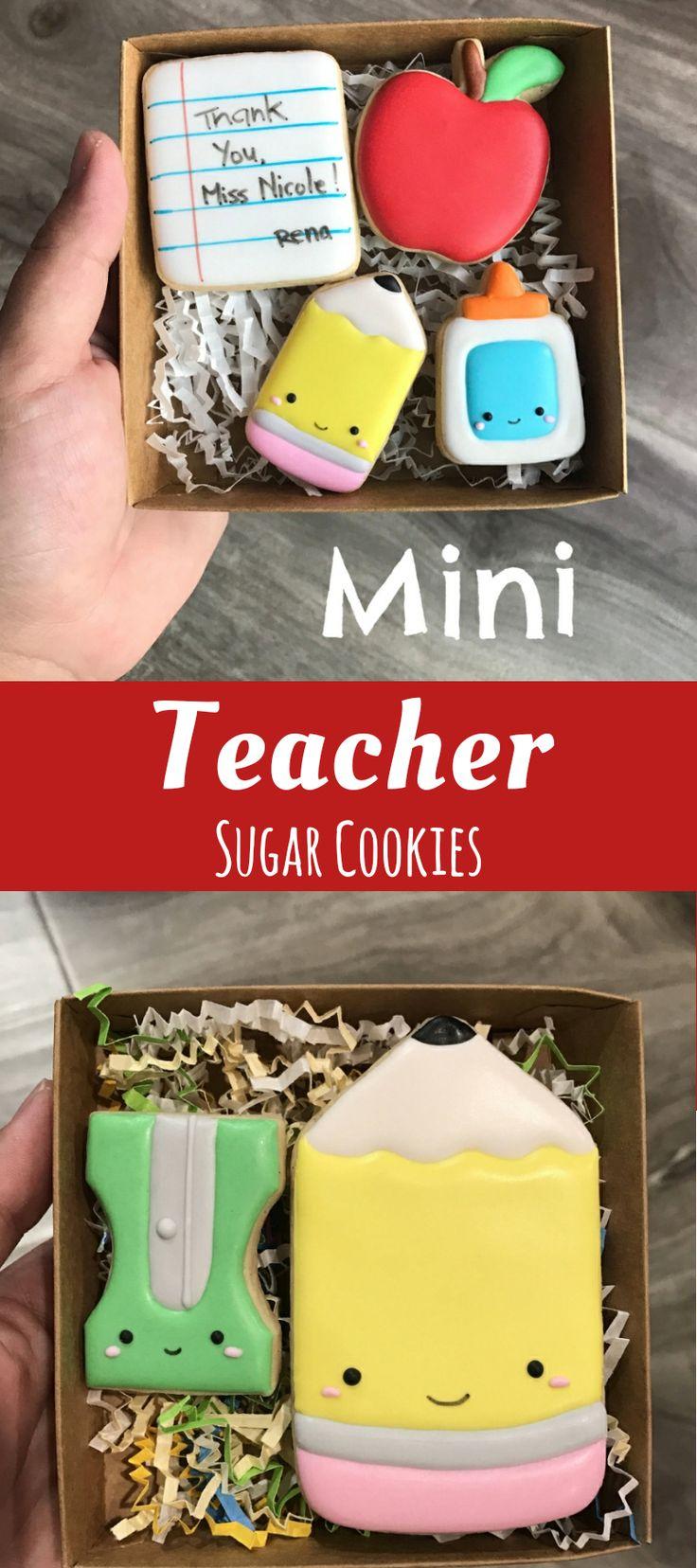 Teacher Appreciation Cookies #affiliate