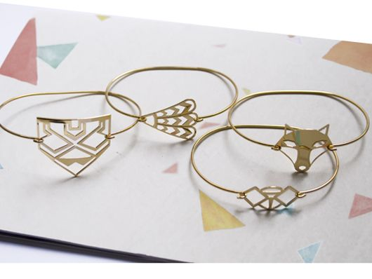 Bracelets jonc or tendance 2016                                                                                                                                                      Plus
