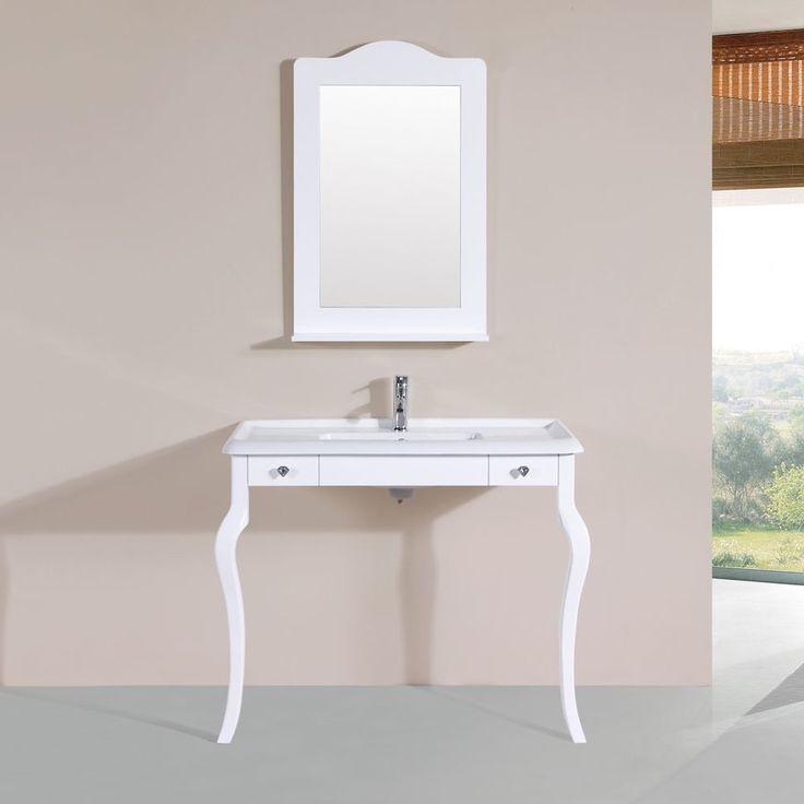 "Buswell 40"" Single Traditional Bathroom Vanity Set"