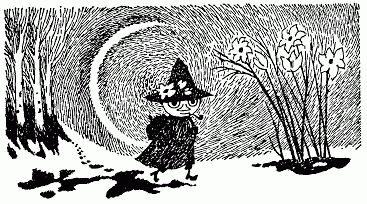Snufkin is my favourite Moomin character. By Tove Jansson.