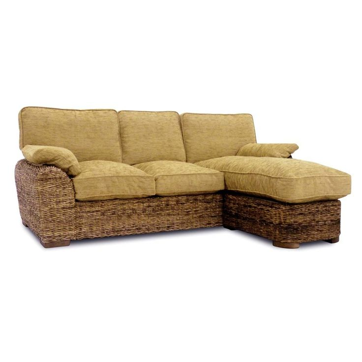 Lichfield Conservatory Furniture Large Sofa With Chaise - Home Life Direct