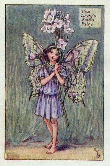 Princesa Nadie: Las hadas de las flores de Cicely Mary Barker