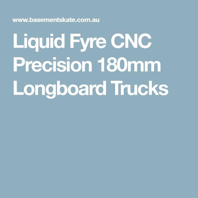 Liquid Fyre CNC Precision 180mm Longboard Trucks