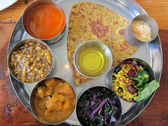 100 Favorite Dishes 2012: No. 15, Yogi Thali at Pondicheri - Eating Our Words