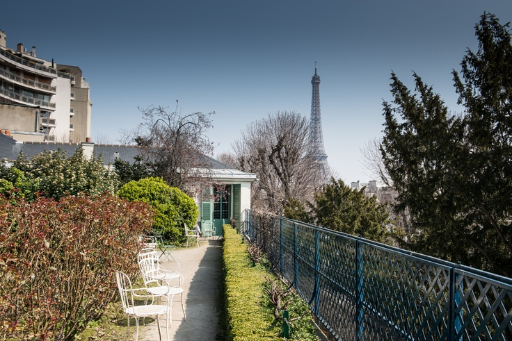 Jardin Maison de Balzac © Mairie de Paris / François Grunberg