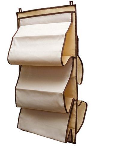 Органайзер для женских сумок, который можно повесить в шкаф. Заказать на Wildberries за 570 руб