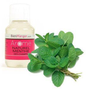 BienManger aromes et colorants - Arôme alimentaire naturel de menthe forte - menthe des champs