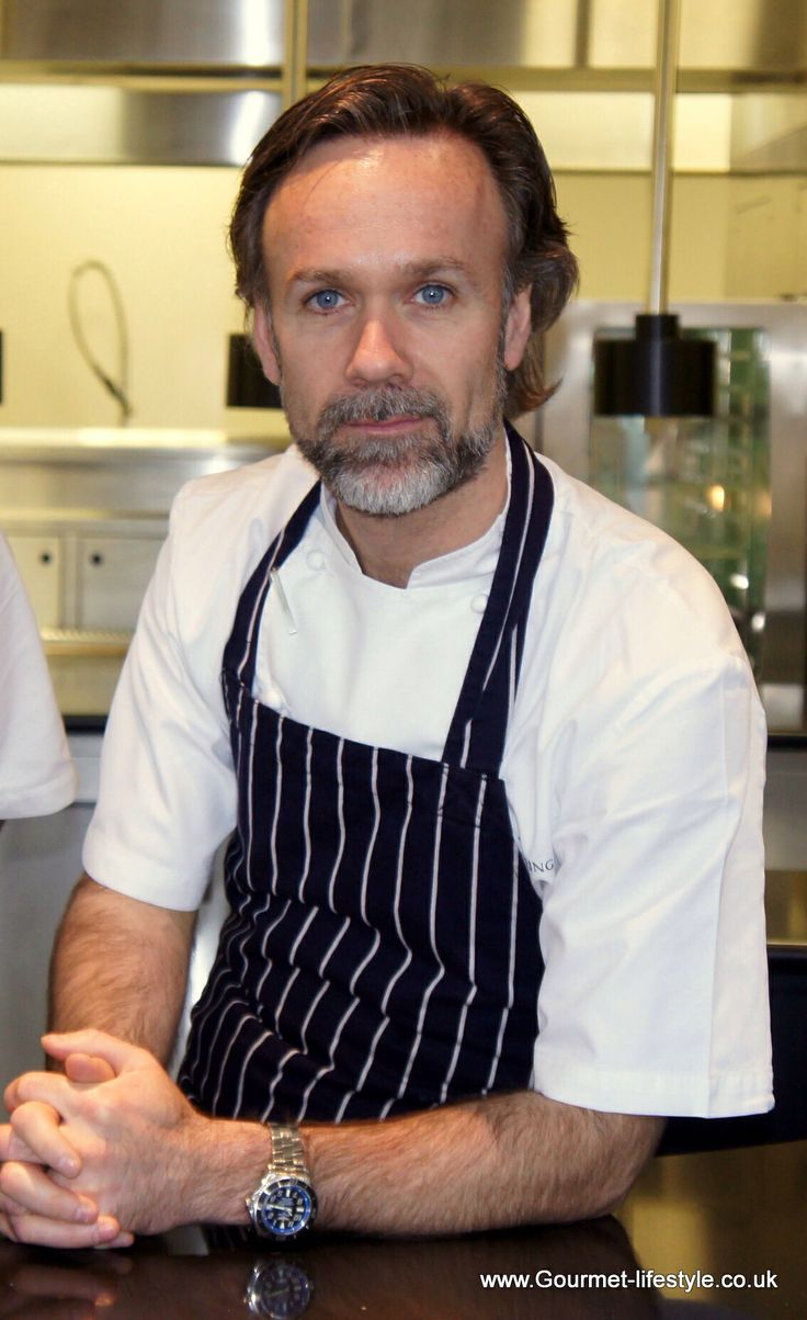 Marcus Wareing - one of the finest chefs that the UK has ever produced
