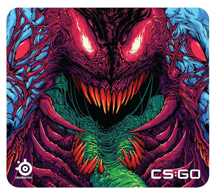 Steelseries QcK CS GO Hyper Beast Edition Gaming Mouse Pad