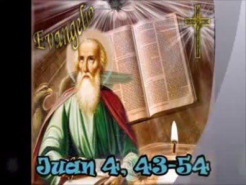 Evangelio del día y comentario (Jn 4, 43-54)  Jesús partió hacia Galilea. Él mismo había declarado que un profeta no goza de prestigio en su propio pueblo. Pero cuando llegó, los galileos lo recibieron b...  https://www.youtube.com/watch?v=5urD70YaD4Q