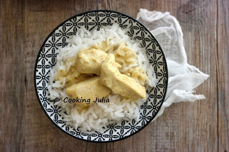COOKING JULIA : POULET AU CURRY EXPRESS