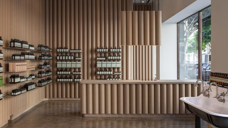 Stores: Los Angeles Aesop Store by Brooks + Scarpa