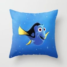 Finding Dory Throw Pillow
