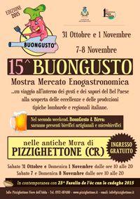 BuonGusto dal 31 ottobre all'8 Novembre Pizzighettone (CR)