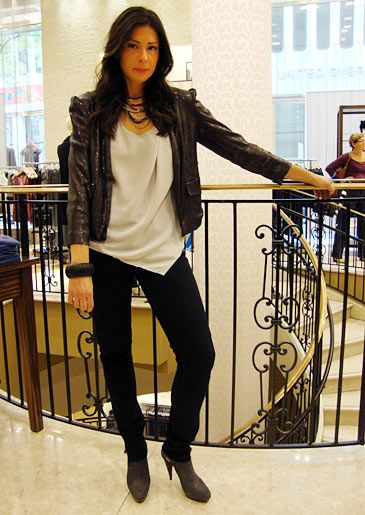 Stacy London Fashion Lookbook: What Not To Wear: TLC  Still on the lookout for a good leather jacket...