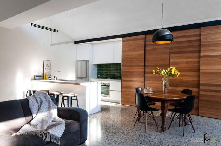 Кухня студия в квартире: 50 лучших идей совмещений на фото