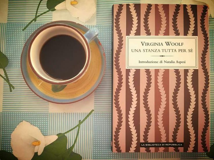 """Virginia Woolf, """"Una stanza tutta per sé"""" #libri #letteraturainglese"""