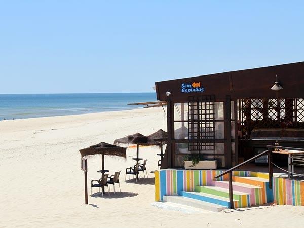 Sem Espinhas - Praia do Cabeço near Castro Marim, Portugal #castromarim
