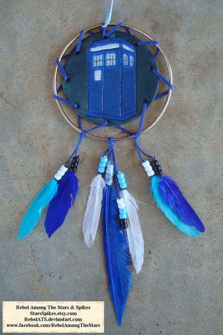TARDIS Dream Catcher